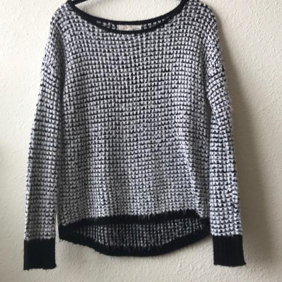 Rewind Sweaters S Juniors Khols Black White Sweater Poshmark